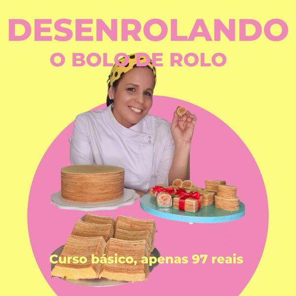 Imagem principal do produto Desenrolando o bolo de rolo