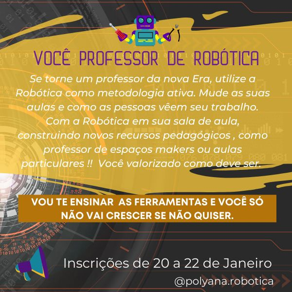 Imagem principal do produto Você Professor de Robótica