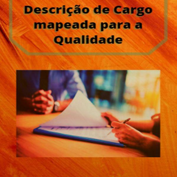 Imagem principal do produto Elaborando uma Descrição de Cargo mapeada para a Qualidade