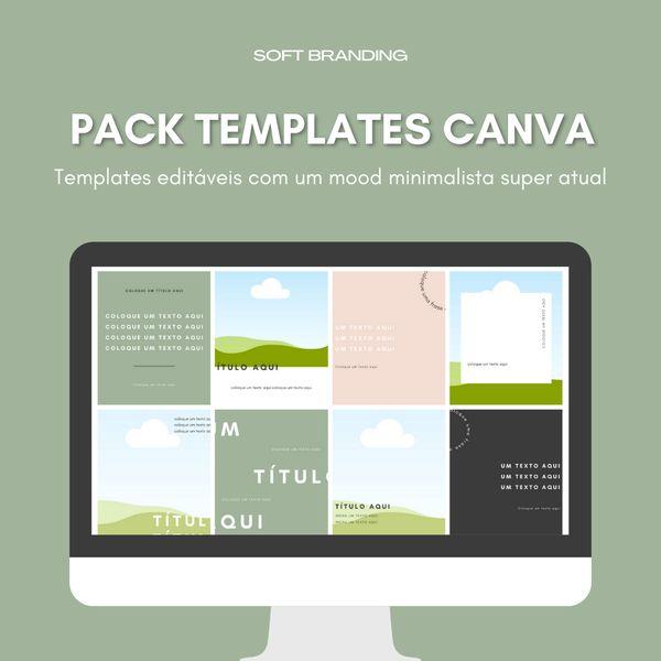 Imagem principal do produto Canva Pack - Minimal Feed