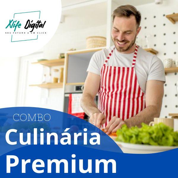 Imagem principal do produto Curso Culinária Premium - COMBO