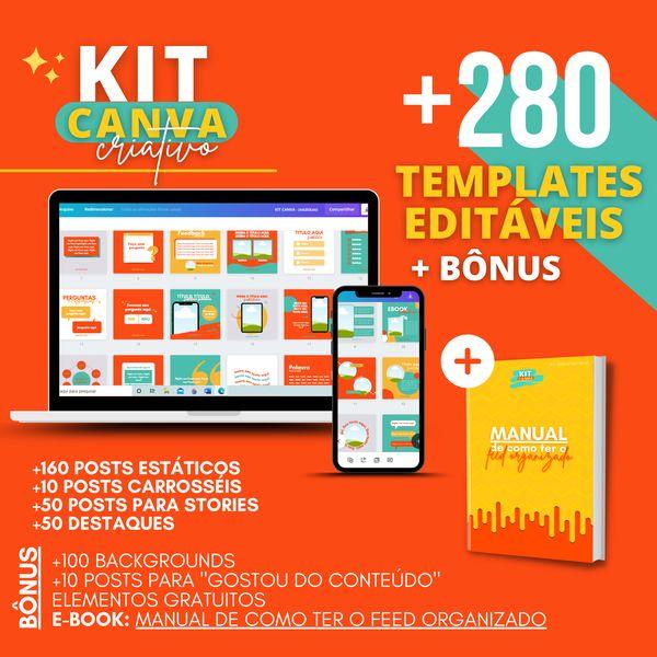 Imagem principal do produto KIT CANVA CRIATIVO ♥