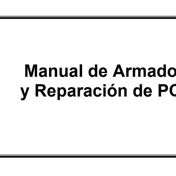 Imagem principal do produto Armado y reparación de PCs