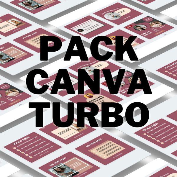 Imagem principal do produto Canva Pack Turbo