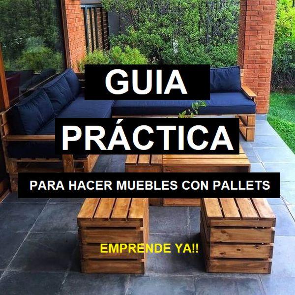 Imagem principal do produto Guía practica para hacer muebles con Pallets de Madera