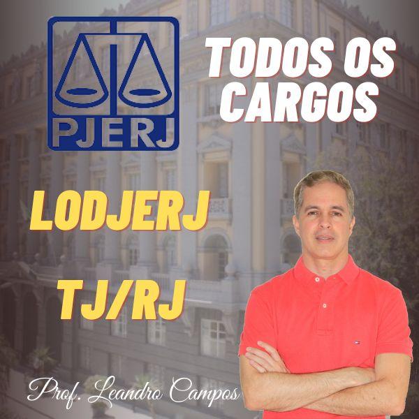 Imagem principal do produto LODJERJ - Lei de Organização e Divisão Judiciária do Rio de Janeiro