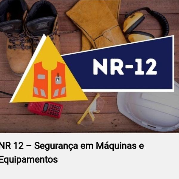 Imagem principal do produto APRESENTAÇÃO - NR12 SEGURANÇA EM MÁQUINAS E EQUIPAMENTOS