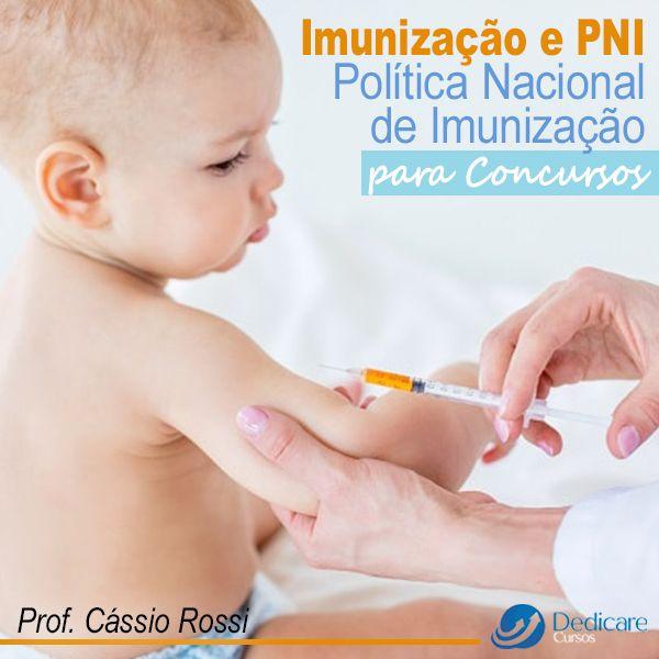 Imagem principal do produto Imunização e PNI - Política Nacional de Imunização para Concursos!