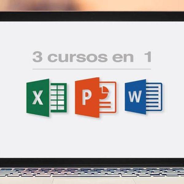 Imagem principal do produto CURSO EXPRÉS DE EXCEL, WORD y POWERPOINT, DE LO BASICO A LO MEDIO Y AVANZADO