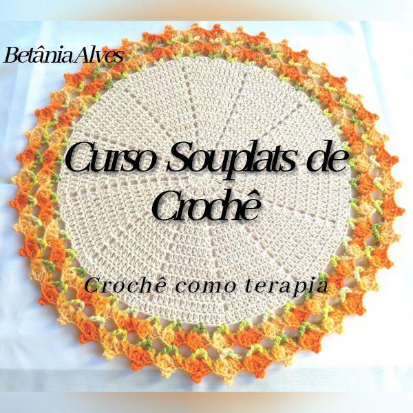 Imagem principal do produto Curso Souplats de Crochê