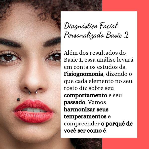 Imagem principal do produto Diagnóstico Facial Personalizado BASIC 2