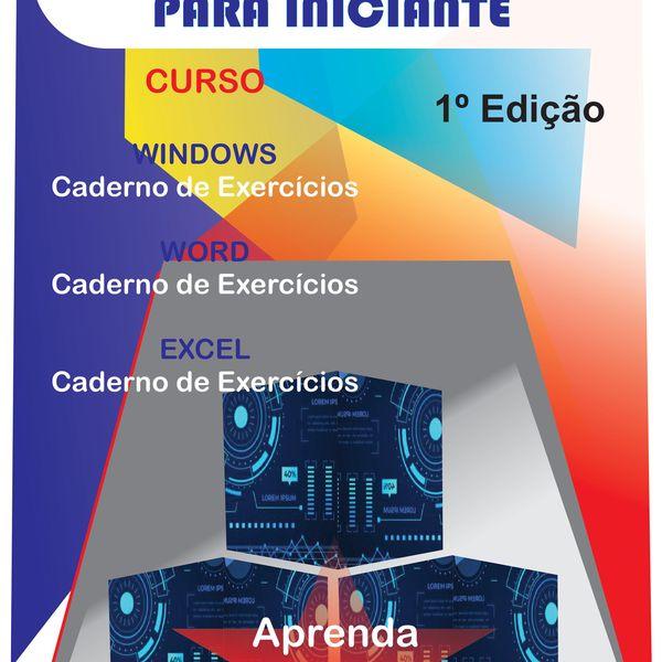 Imagem principal do produto Curso de Informática para Iniciantes
