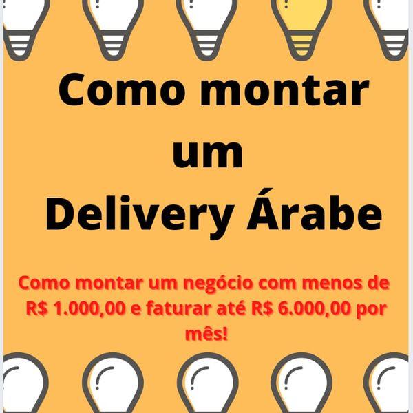 Imagem principal do produto Como montar um delivery de comida árabe