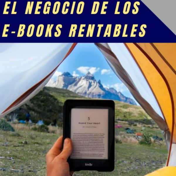 Imagem principal do produto El negocio de los e-books rentables
