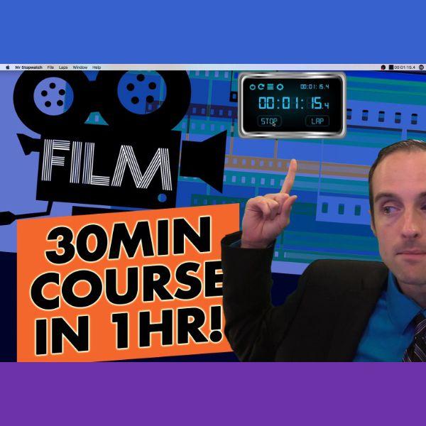 Imagem principal do produto Film a 30 Minute Video Course in 1 Hour!