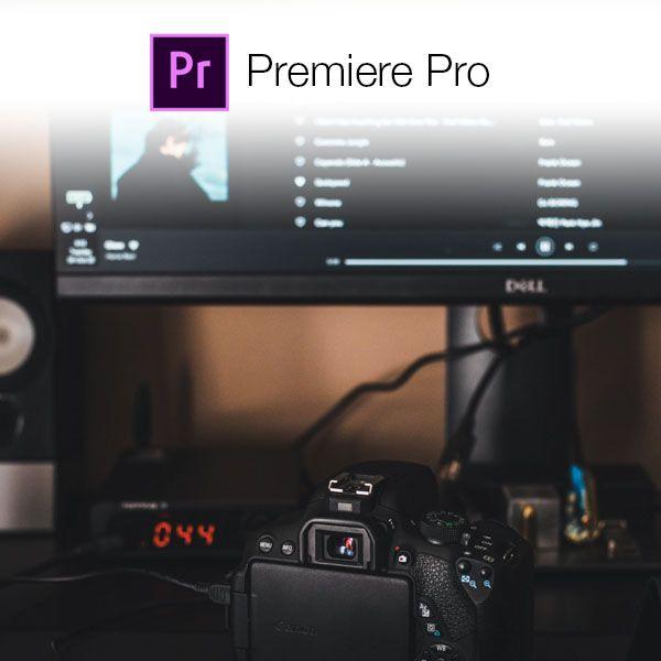 Imagem principal do produto Curso Edición de Video con Premiere Pro.