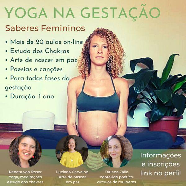 Imagem principal do produto Yoga na Gestação - Saberes femininos