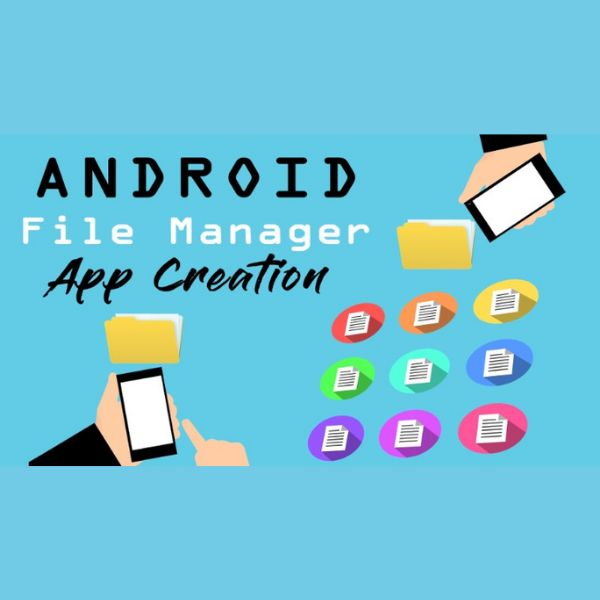 Imagem principal do produto Code an Android File Manager and Explorer App in Android Studio Today!