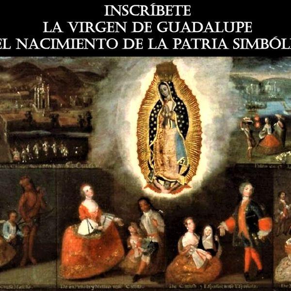 Imagem principal do produto LA VIRGEN DE GUADALUPE Y EL NACIMIENTO DE LA PATRIA SIMBÓLICA