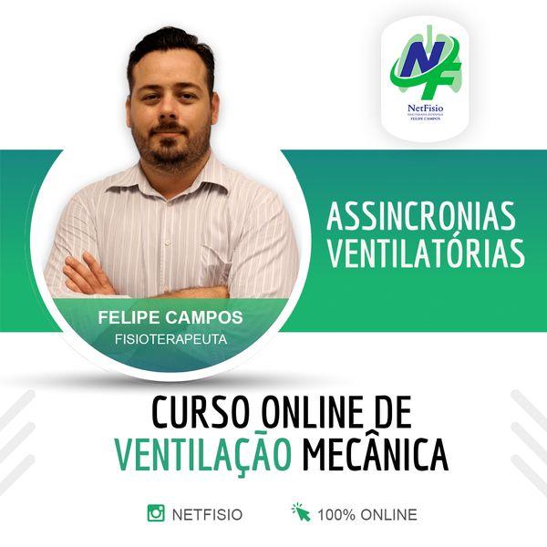 Imagem principal do produto CURSO ONLINE DE ASSINCRONIA PACIENTE-VENTILADOR
