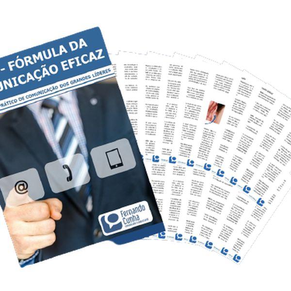 Imagem principal do produto E-book Fórmula da Comunicação Eficaz - O Manual Prático de Comunicação dos Grandes Líderes