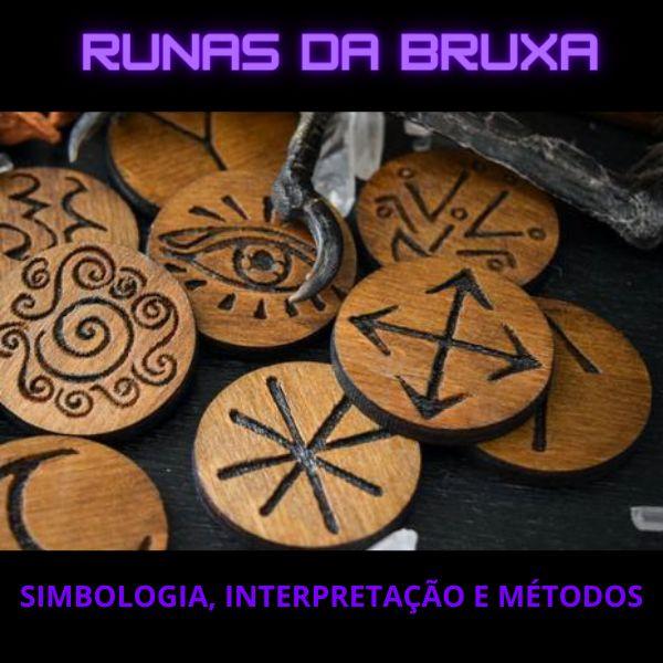 Imagem principal do produto Curso de Runas da Bruxa