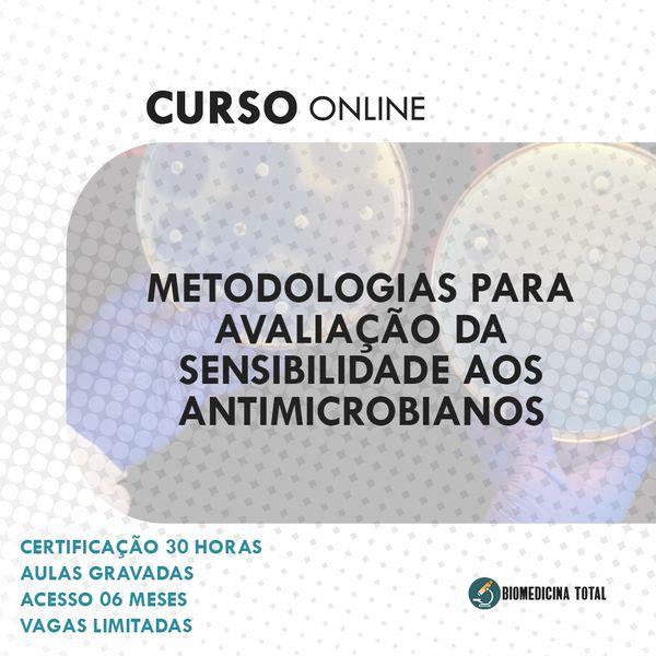 Imagem principal do produto Curso: Metodologias para Avaliação da Sensibilidade aos Antimicrobianos