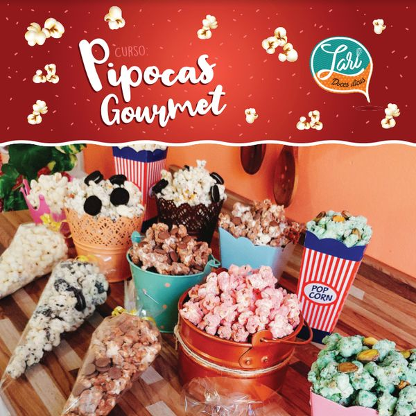 Imagem principal do produto Pipocas Gourmet