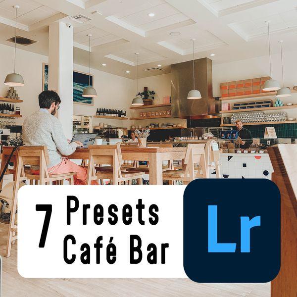 Imagem principal do produto 7 Lightroom Preset - Café Bar - PC & Mobile