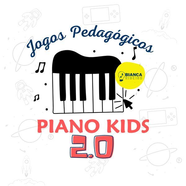 Imagem principal do produto #2 Kit de Jogos Pedagógicos - Piano Kids 2.0