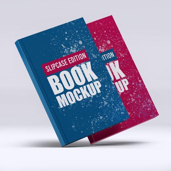 Imagem principal do produto Capa e-Book Magnético - Book Cover Mockup #4 - PSD 100% Editável