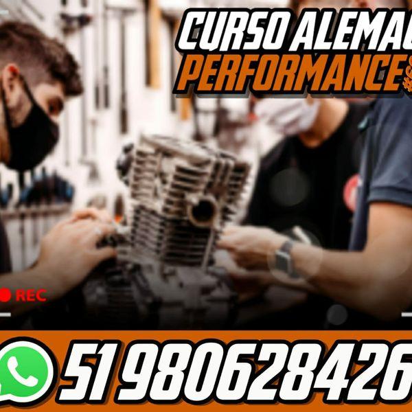Imagem principal do produto CURSO DE PREPARAÇÃO DE MOTOS - ALEMÃO PERFORMANCE