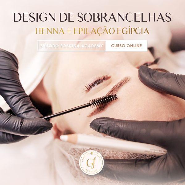 Imagem principal do produto Design de Sobrancelhas - Curso Online