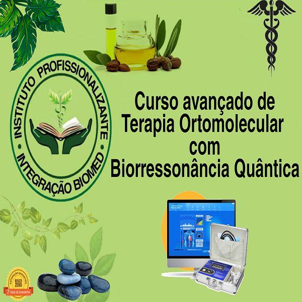 Imagem principal do produto Curso Avançado de Terapia Ortomolecular C/ Certificação Reconhecida pela ABRATH
