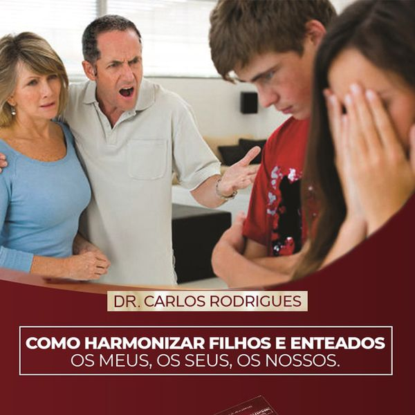 Imagem principal do produto Como Harmonizar Filhos e Enteados: Os Meus, Os Seus, Os Nossos