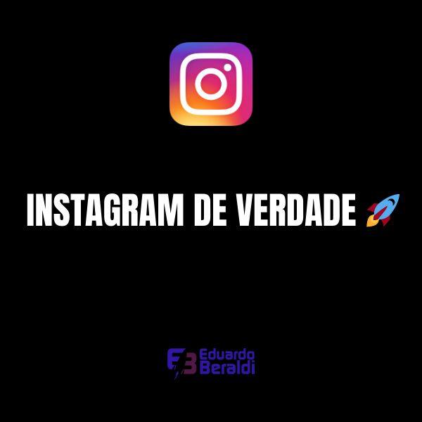 Imagem principal do produto Instagram de Verdade