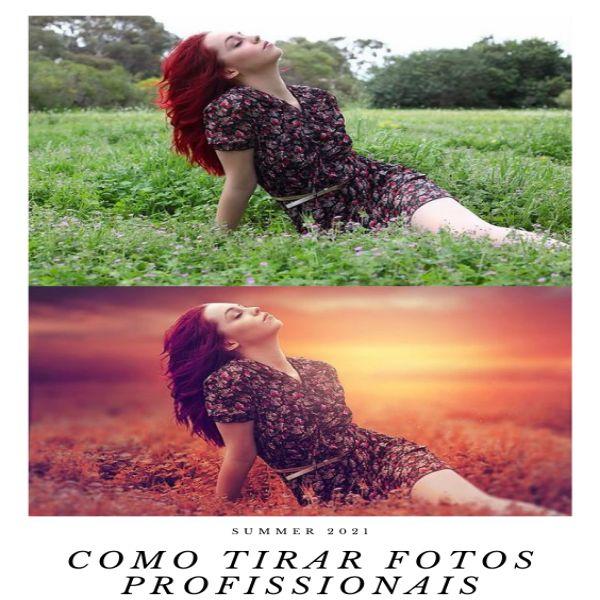 Imagem principal do produto Aprenda a tirar Fotos com seu celular de modo Profissional