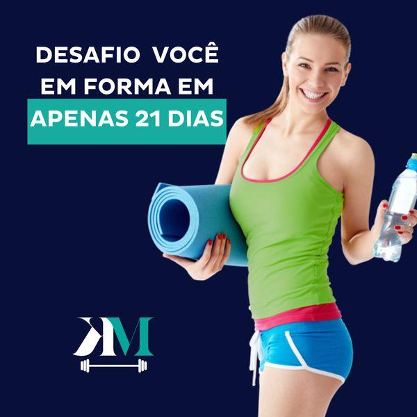 Imagem principal do produto Desafio 21 Dias | KMafra Personal
