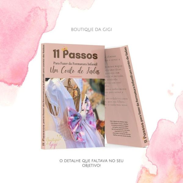 Imagem principal do produto Como Fazer da Formatura Infantil um Conto de Fadas
