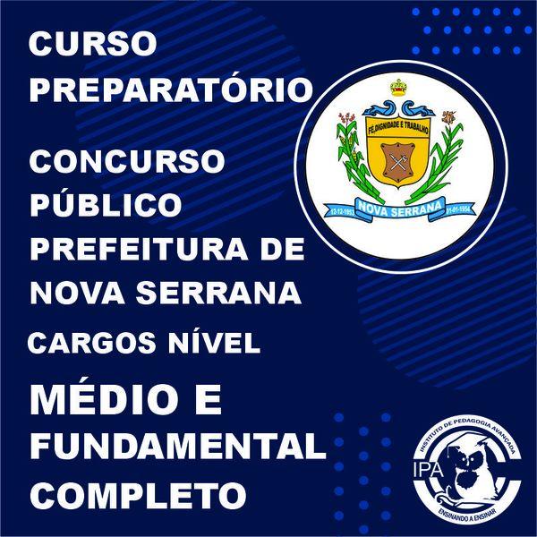 Imagem principal do produto CURSO NÍVEL MÉDIO E FUNDAMENTAL COMPLETO