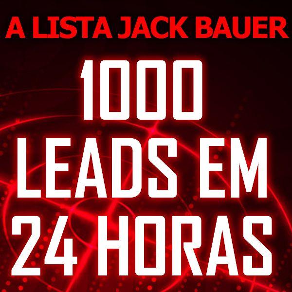 Imagem principal do produto A Lista Jack Bauer - 1.000 Leads em 24 Horas