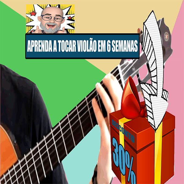 Imagem principal do produto Aprenda violão em 6 semanas
