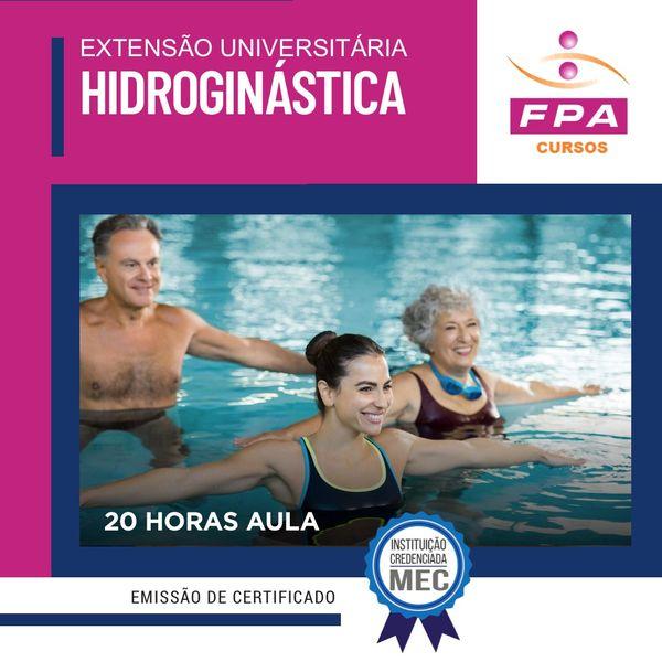 Imagem principal do produto Extensão Universitária: Hidroginástica -  Me Aide Angélica Nessi - CREF: 046982 – G/SP