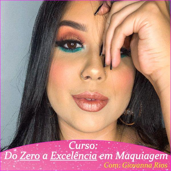 Imagem principal do produto Do zero a excelência em maquiagem