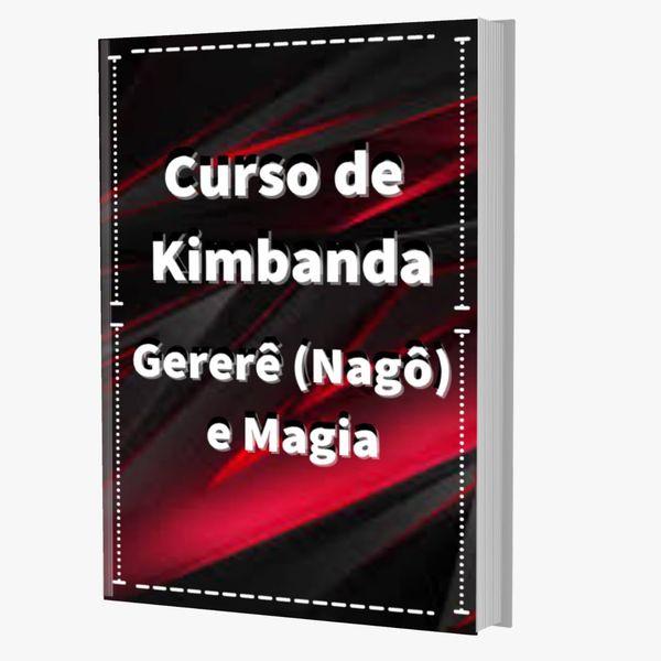 Imagem principal do produto CURSO DE KIMBANDA  GERERÊ NAGÔ (  Pesada Prática )
