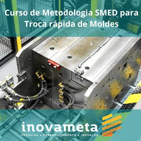 Imagem principal do produto Curso de Metodologia SMED para troca rápida de Moldes