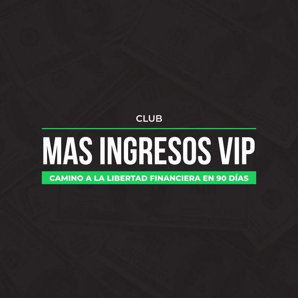 """Imagem principal do produto El club """"Más Ingresos VIP"""""""