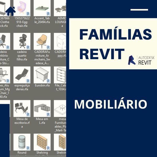 Imagem principal do produto Famílias para Revit Mobiliário 1.0