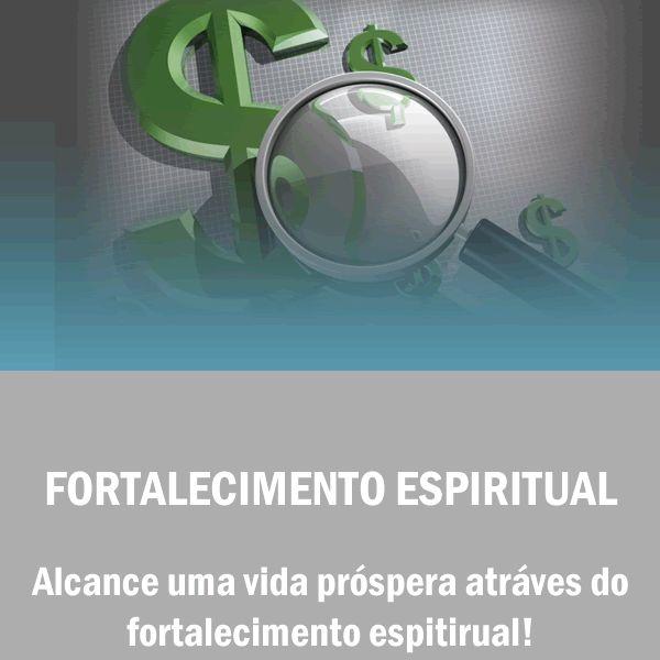 Imagem principal do produto Fortalecimento Espiritual - Vida Próspera - Dinheiro