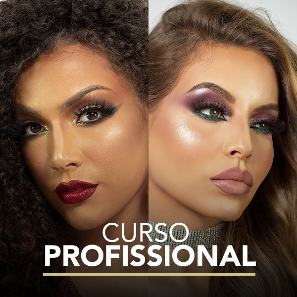 Imagem principal do produto Curso Profissionalizante de Maquiagem - Bruna Ayra